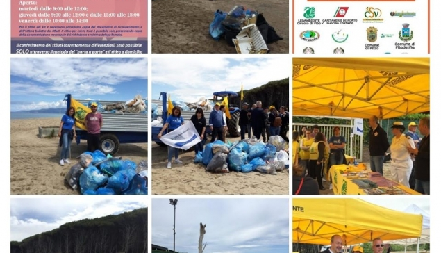 Beach Clean up - Comune di Pizzo